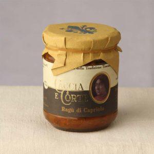 Vendita Online Ragù di Capriolo - Sughi Buoni specialità Prodotti Toscani