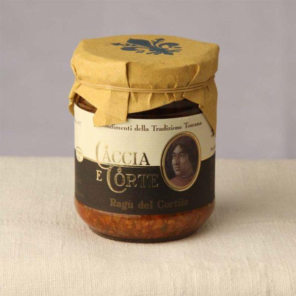 Vendita Online Ragù del Cortile - Sughi Buoni specialità Prodotti Toscani