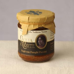 Vendita Online Ragù con Funghi Porcini - Sughi Buoni specialità Prodotti Toscani